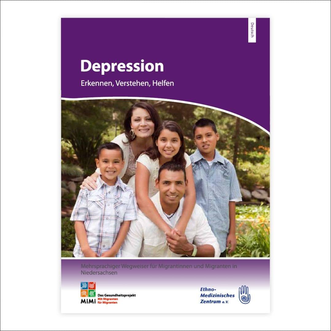 Leitfaden Depression in deutscher Sprache Ausgabe Niedersachsen