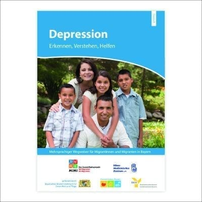 Wegweiser Depression Ausgabe Bayern