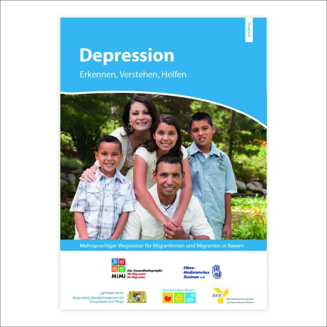 Leitfaden Depression in deutscher Sprache Ausgabe Bayern