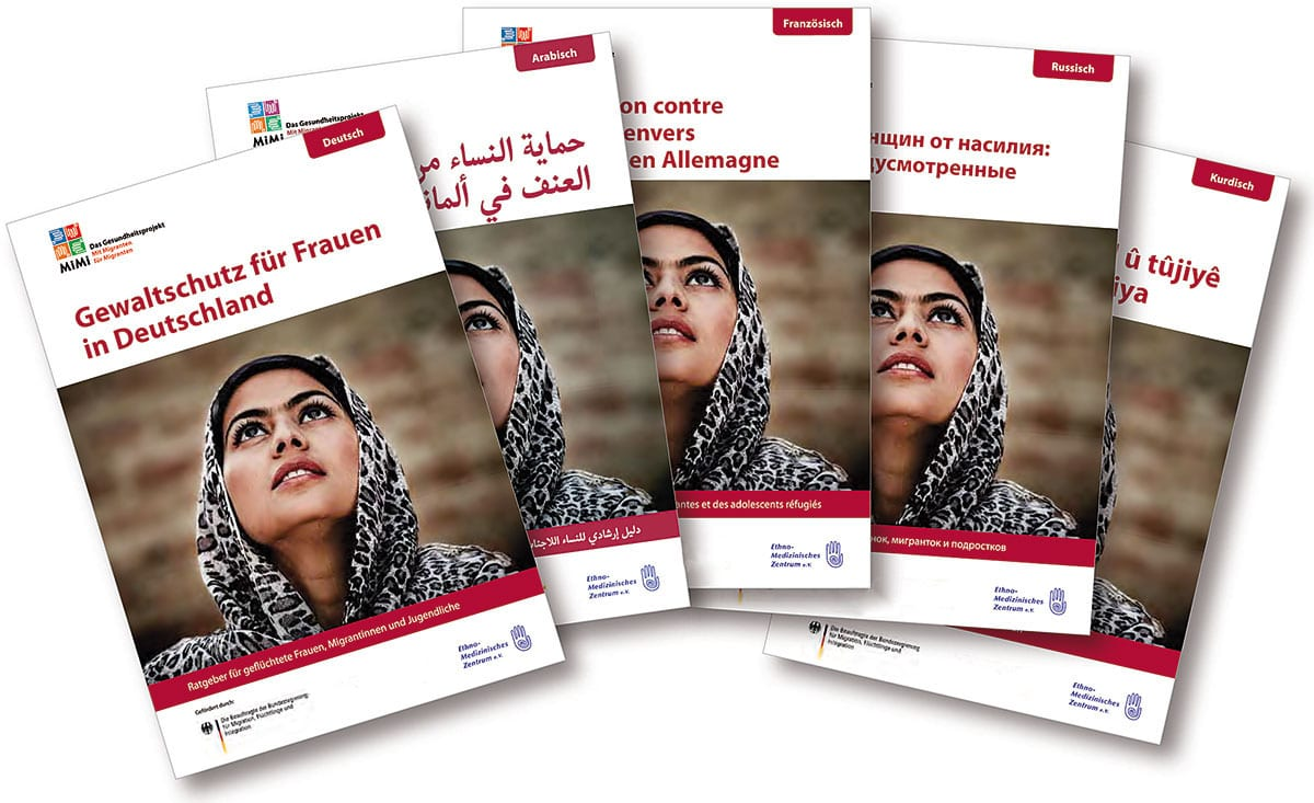 Ratgeber Gewaltschutz für Frauen in Deutschland veröffentlicht