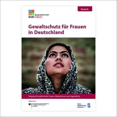Ratgeber Gewaltschutz für Frauen in Deutschland