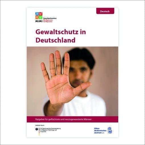 Wegweiser Männergewaltprävention in Deutsch