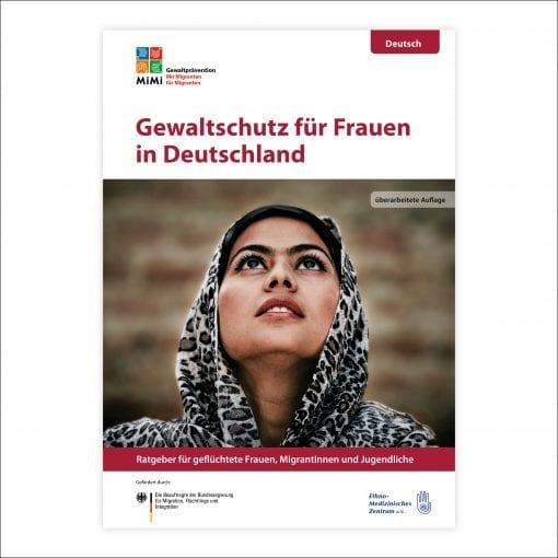 Ratgeber Gewaltprävention für Frauen in der Sprache Deutsch