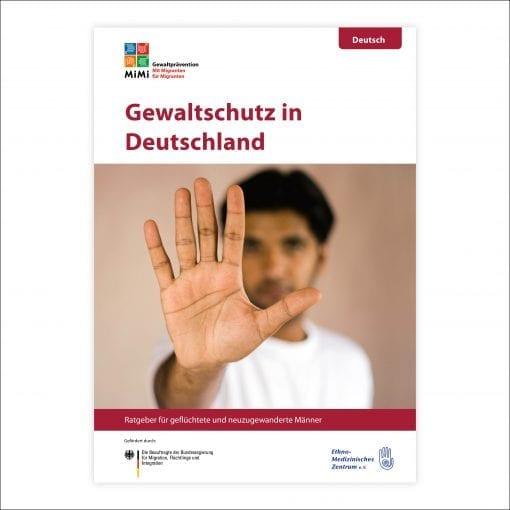 Ratgeber Männergewaltprävention in der Sprache Deutsch