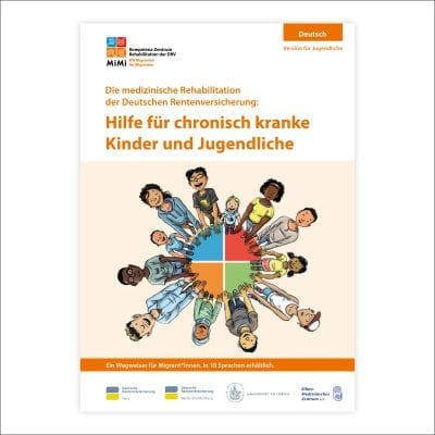 Wegweiser zur medizinischen Reha für Kinder und Jugendliche (Version für Jugendliche)